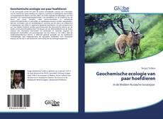 Bookcover of Geochemische ecologie van paar hoefdieren