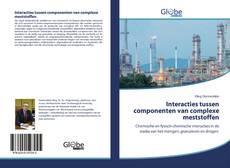 Bookcover of Interacties tussen componenten van complexe meststoffen