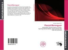 Buchcover von Pascal Berenguer