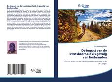 Portada del libro de De impact van de kwetsbaarheid als gevolg van bosbranden