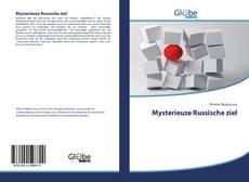 Bookcover of Mysterieuze Russische ziel