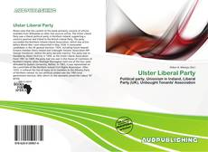 Bookcover of Ulster Liberal Party