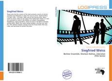 Bookcover of Siegfried Weiss