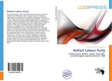 Belfast Labour Party kitap kapağı