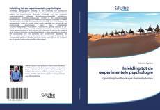 Bookcover of Inleiding tot de experimentele psychologie