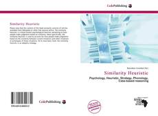 Bookcover of Similarity Heuristic