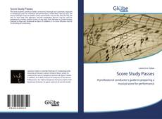 Bookcover of Score Study Passes