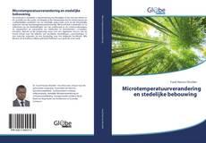 Bookcover of Microtemperatuurverandering en stedelijke bebouwing