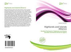 Capa do livro de Highlands and Islands Alliance