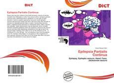 Couverture de Epilepsia Partialis Continua