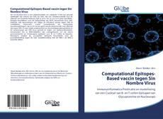 Bookcover of Computational Epitopes-Based vaccin tegen Sin Nombre Virus