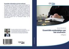 Borítókép a  Essentiële onderdelen van het strafrecht - hoz