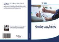 Bookcover of Uitdagingen voor Corporate Leadership met oplossingen