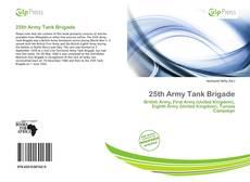 Bookcover of 25th Army Tank Brigade