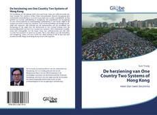 De herziening van One Country Two Systems of Hong Kong的封面