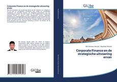 Bookcover of Corporate Finance en de strategische uitvoering ervan
