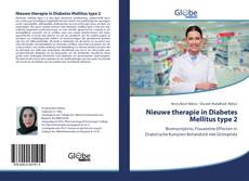 Portada del libro de Nieuwe therapie in Diabetes Mellitus type 2