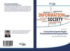 Bookcover of Innovatieve technologie: Prestatiebeoordelingssysteem