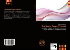 Capa do livro de 2nd Army Corps (France)
