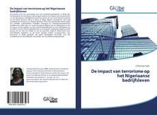 Bookcover of De impact van terrorisme op het Nigeriaanse bedrijfsleven