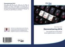 Bookcover of Demonetisering 2016
