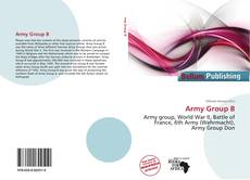 Capa do livro de Army Group B