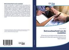 Bookcover of Betrouwbaarheid van de modellen