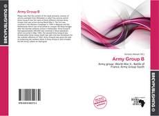Обложка Army Group B