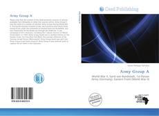 Capa do livro de Army Group A