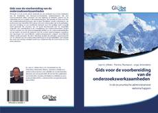 Bookcover of Gids voor de voorbereiding van de onderzoekswerkzaamheden