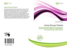 Capa do livro de Army Group Vistula
