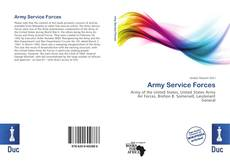 Bookcover of Army Service Forces
