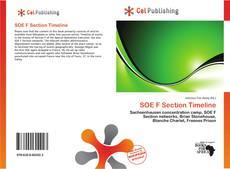 Copertina di SOE F Section Timeline