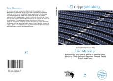 Capa do livro de Éric Marester