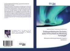 Bookcover of Endosymbiotische Archaea, auto-immuniteit en Warburg Fenotype