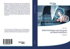 Bookcover of Belemmeringen voor de groei van kleine bedrijven