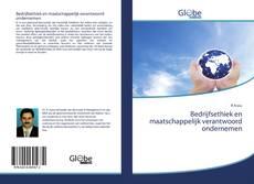 Bookcover of Bedrijfsethiek en maatschappelijk verantwoord ondernemen