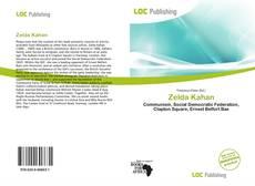 Bookcover of Zelda Kahan