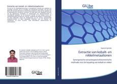 Bookcover of Extractie van kobalt- en nikkelmetaalionen