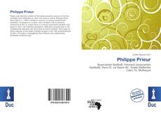Bookcover of Philippe Prieur