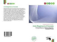 Обложка Irish Regiment of Canada