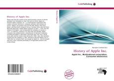 Bookcover of History of Apple Inc.