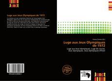 Обложка Luge aux Jeux Olympiques de 1972