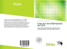 Couverture de Luge aux Jeux Olympiques de 1976