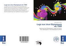 Couverture de Luge aux Jeux Olympiques de 1980