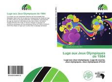 Couverture de Luge aux Jeux Olympiques de 1984