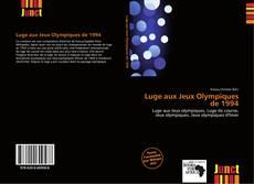 Couverture de Luge aux Jeux Olympiques de 1994