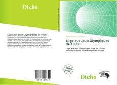 Обложка Luge aux Jeux Olympiques de 1998