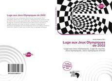 Обложка Luge aux Jeux Olympiques de 2002