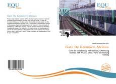 Portada del libro de Gare De Krimmeri-Meinau